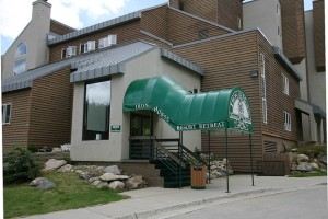 Iron Horse Resort Entrance