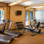 Bridgers Cache Exercise Room