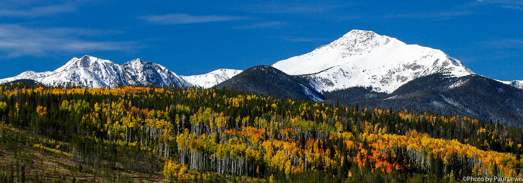 Byers Peak in Fall