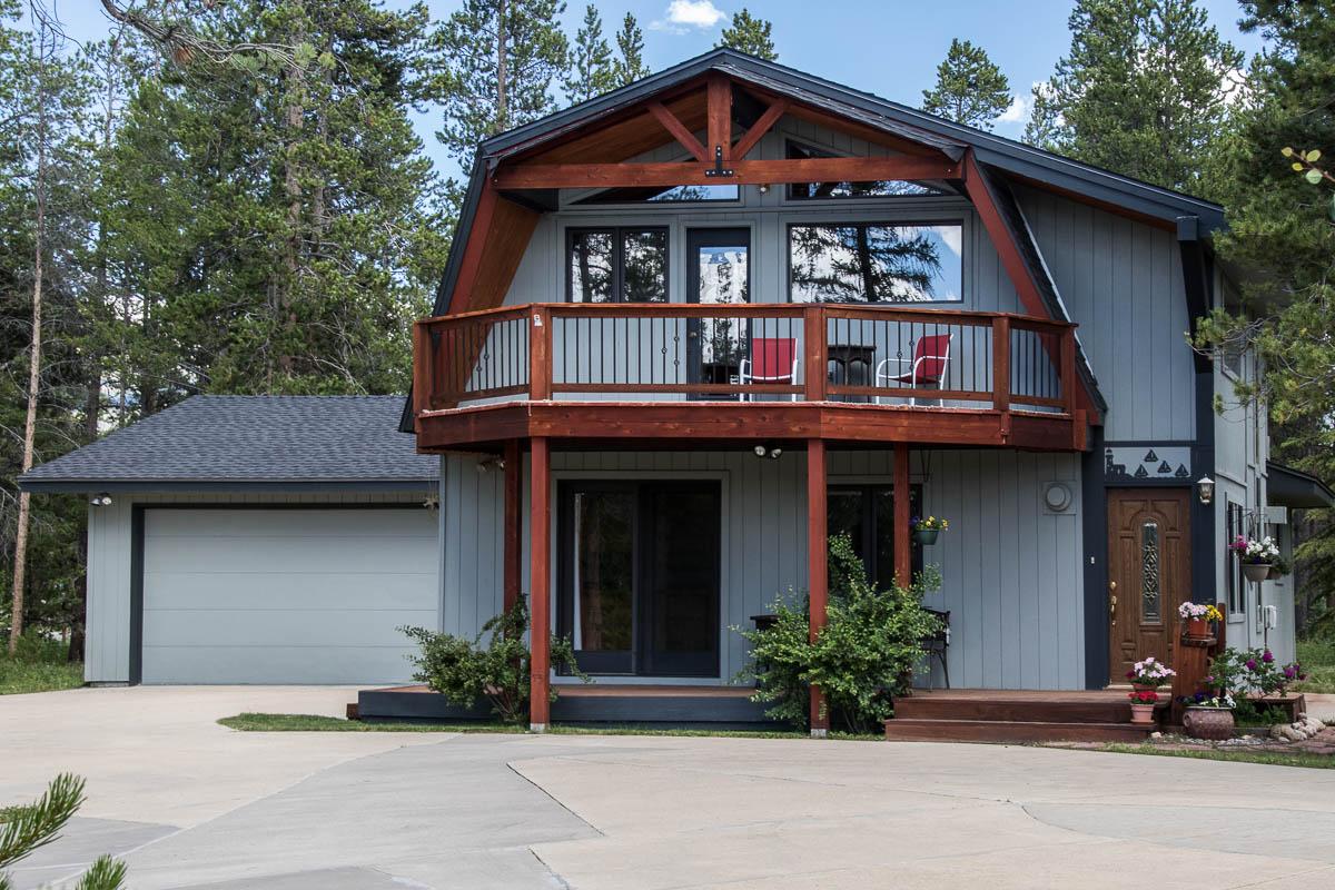 Winter Park Ranch Contemporary Mountain Home