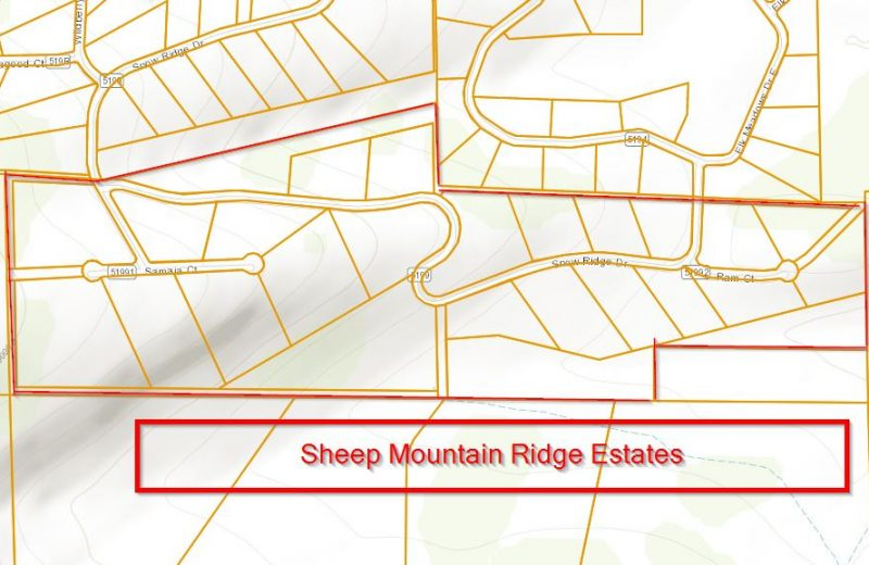 Sheep Mountain Ridge Estates