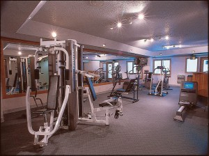 Iron Horse Health Club Exercise Area