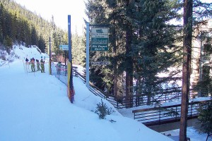 Winter Park Ski Area CorridorTrail